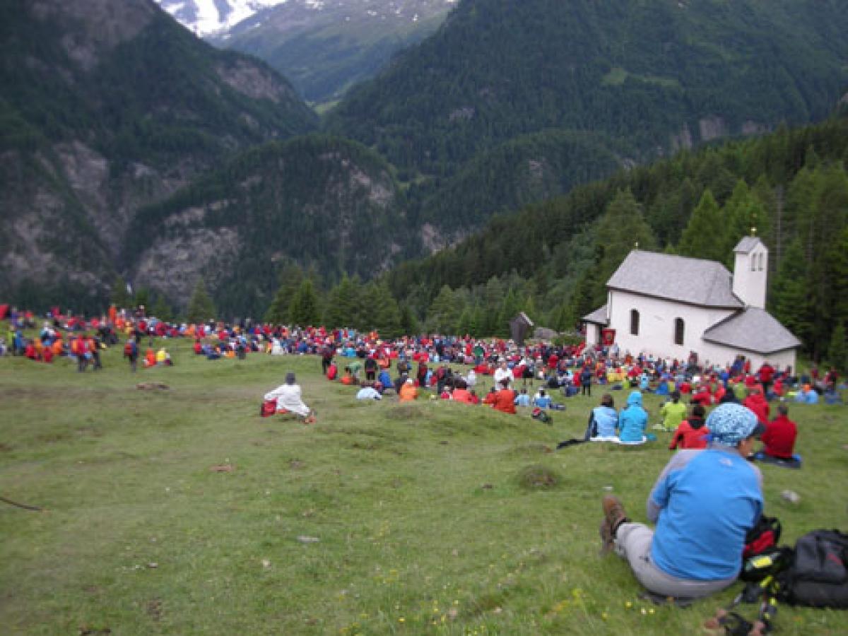 Wallfahrtmesse in Heiligenblut